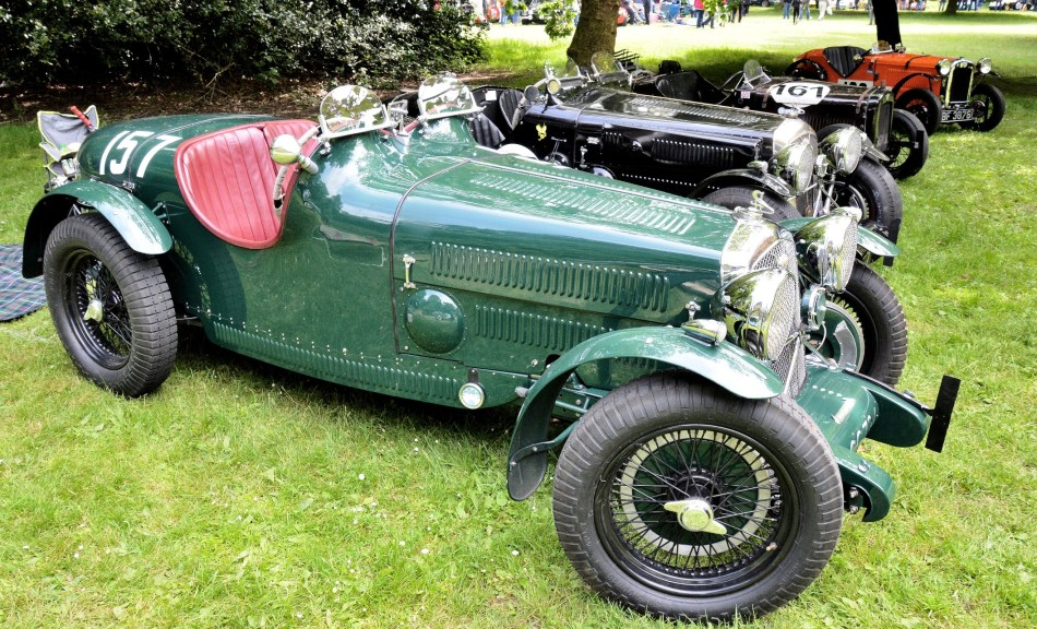 Crystal Palace Motorsport Classic Cars 2016 Wolseley Hornet Special