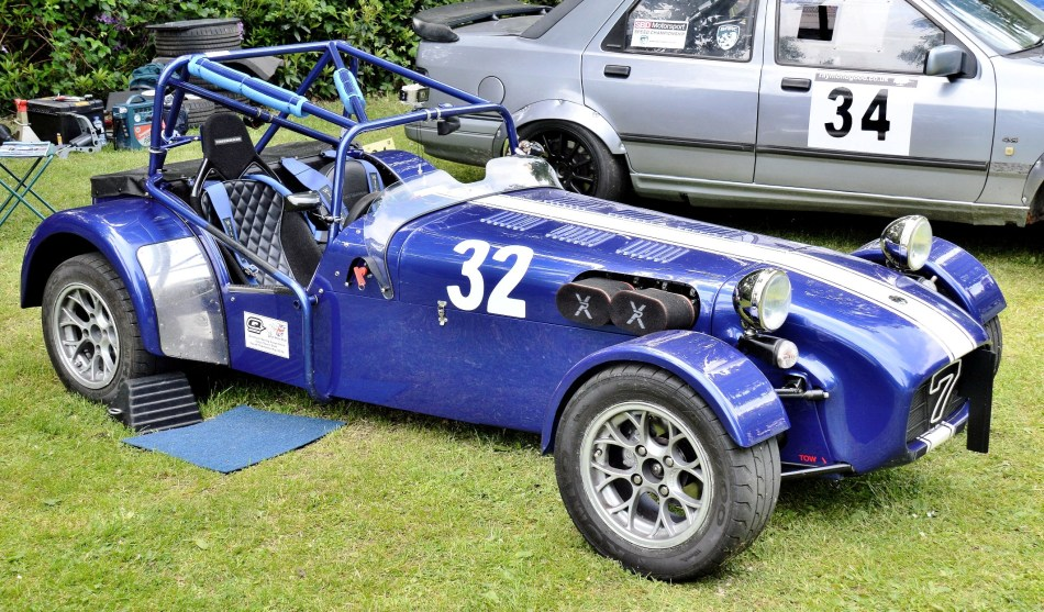 Crystal Palace Motorsport Classic Cars 2016 Caterham 7 Supersprint