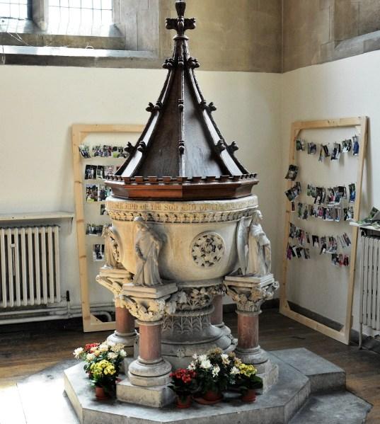 St Mary's Church Stoke Newington Font