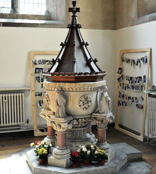 St Mary's Church Stoke Newington Font
