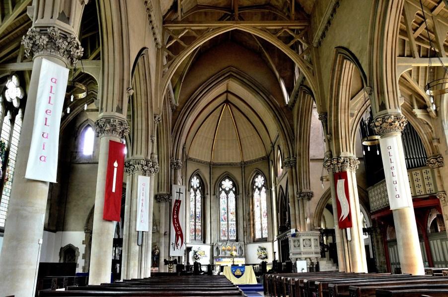St Mary's Church Stoke Newington Interior