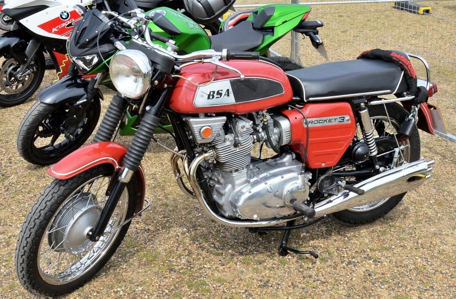 Crystal Palace Motorsport Motorcycles BSA Rocket 3
