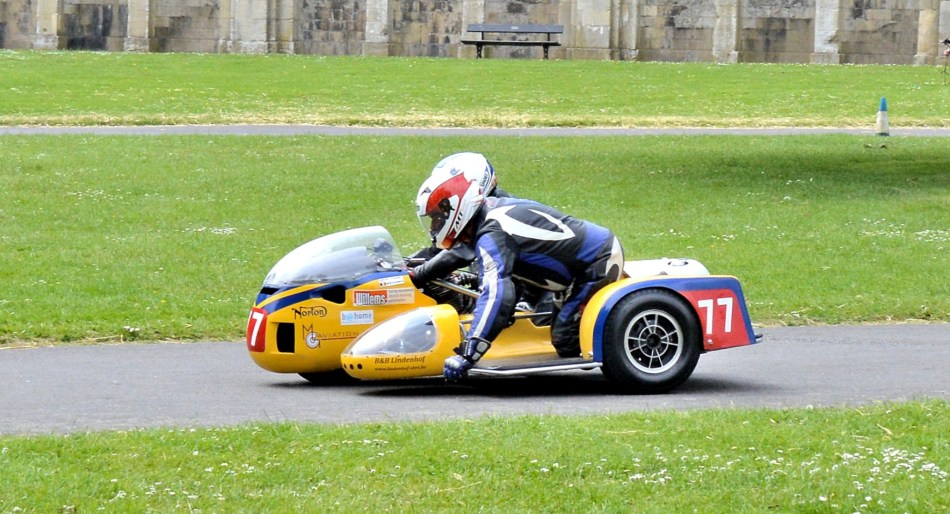 Crystal Palace Motorsport Motorcycles Norton with Racing Sidecar