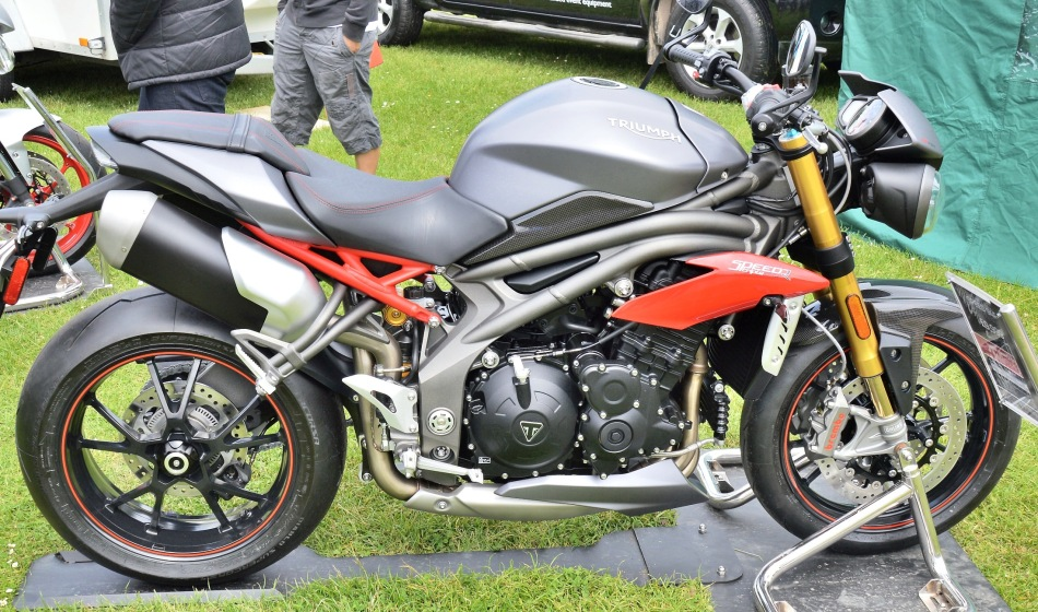 Crystal Palace Motorsport Motorcycles Triumph Speed Triple