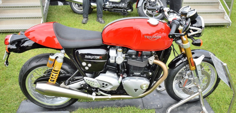 Crystal Palace Motorsport Motorcycles Triumph Thruxton