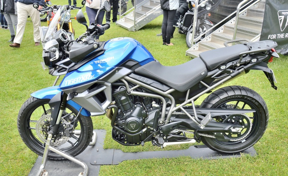 Crystal Palace Motorsport Motorcycles Triumph Tiger XR