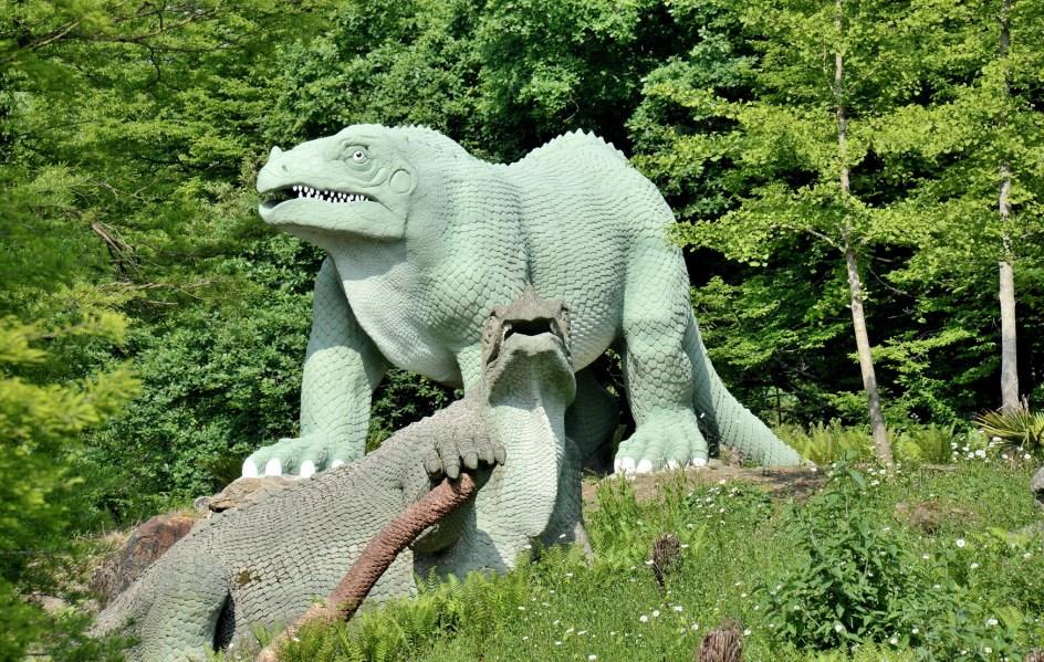 Crystal Palace Park Dinosaurs 4169
