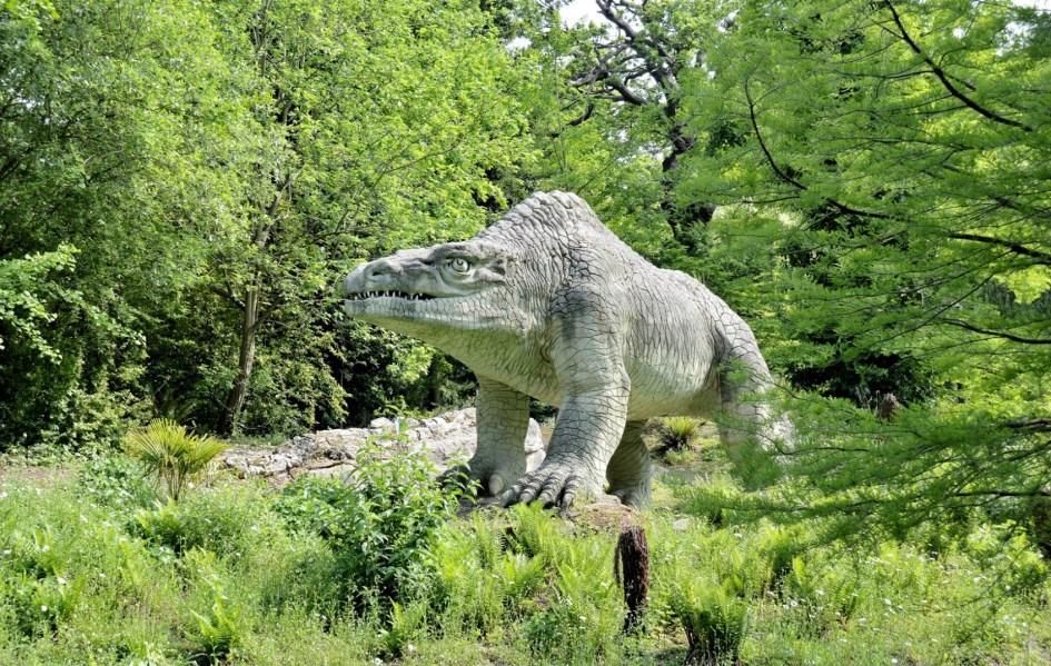 Crystal Palace Park Dinosaurs