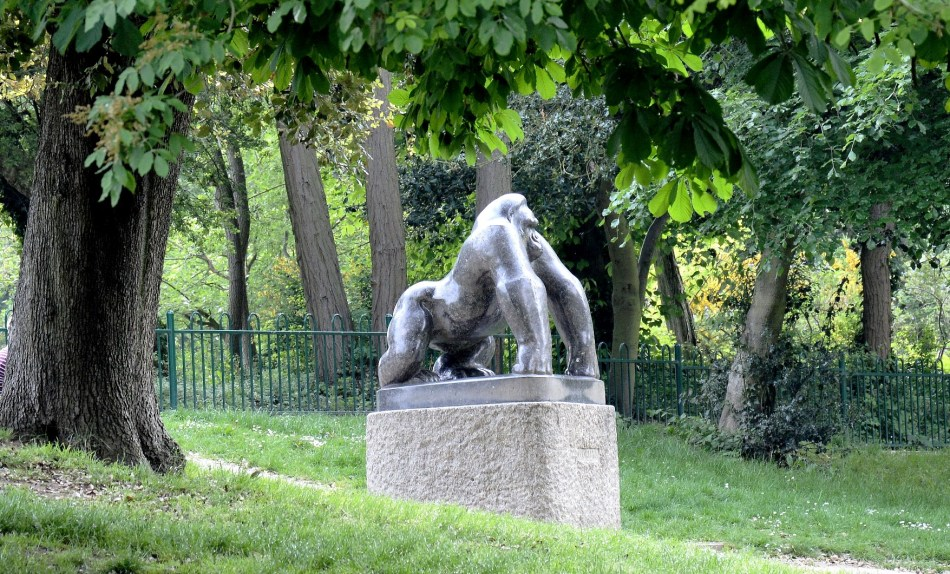 Crystal Palace Park Guy the Gorrilla