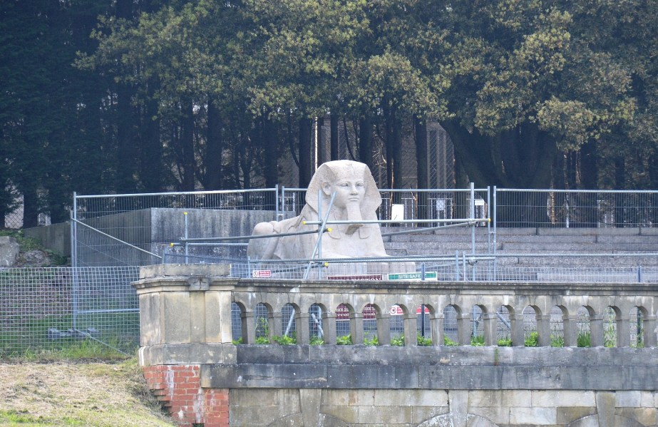 Crystal Palace Park Sphinx