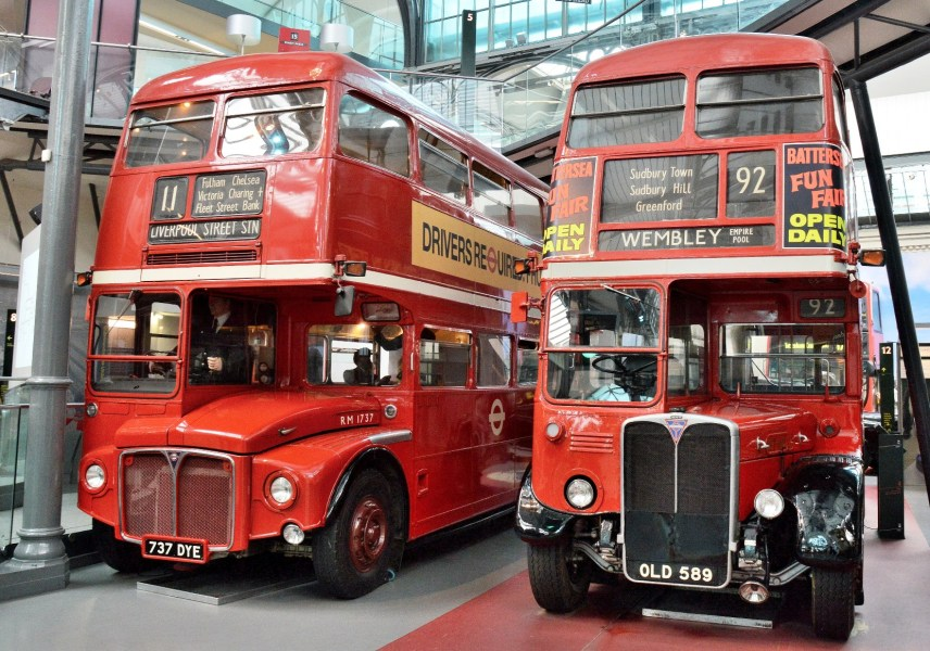 London Transport Museum Routemaster Buses DSC_4795