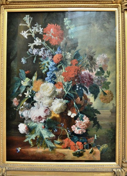 Still Life by Jan Van Huysum at the Dulwich Picture Gallery
