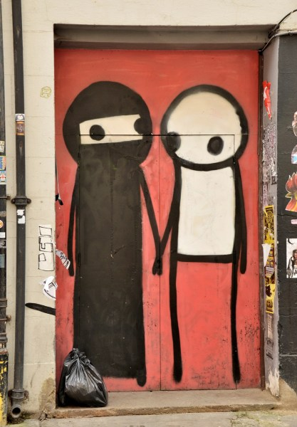Street Art by Stik on Princelet Street DSC_5061