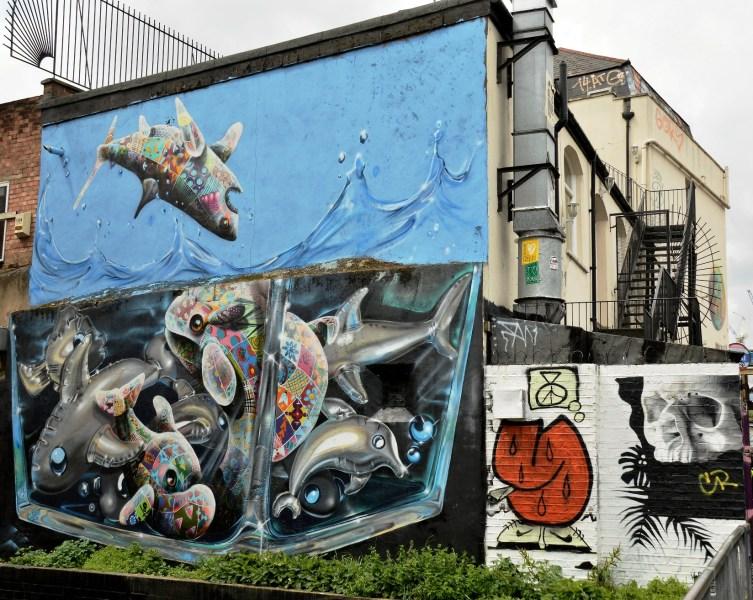 Street Art on Pedley Street Alleyway DSC_4931