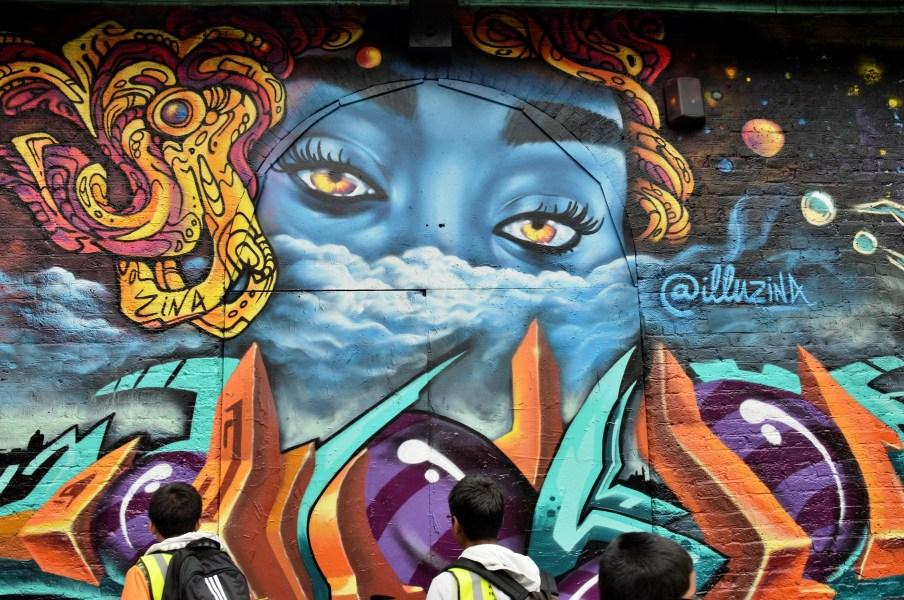 Street Art on Pedley Street Alleyway DSC_4938