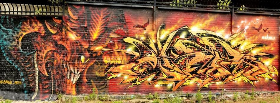 Street Art on Pedley Street Alleyway DSC_4944