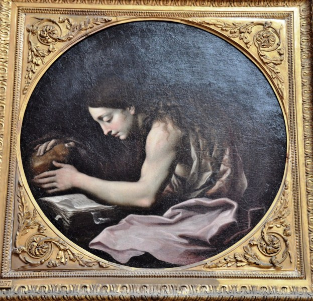 The Penitent Magdalen by Cignani at the Dulwich Picture Gallery