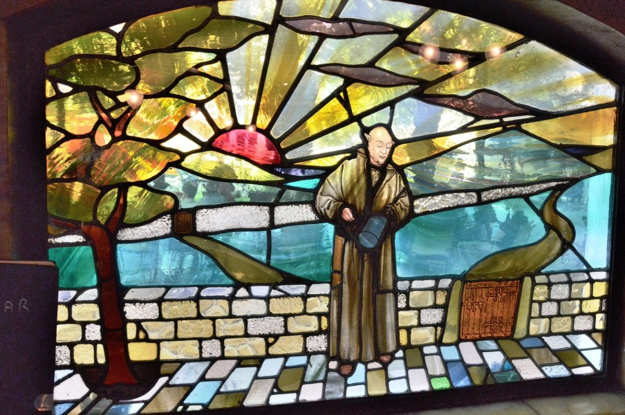 Blackfriars Pub Stained Glass