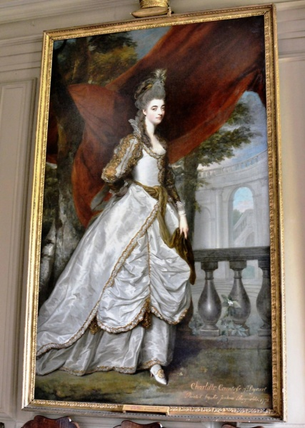 Ham House Charlotte Countess of Dysart by Joshua Reynolds 1775