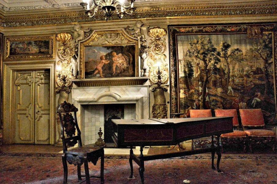 Ham House Ornate Room