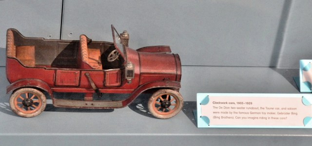 V & A Toy Museum Toy Car