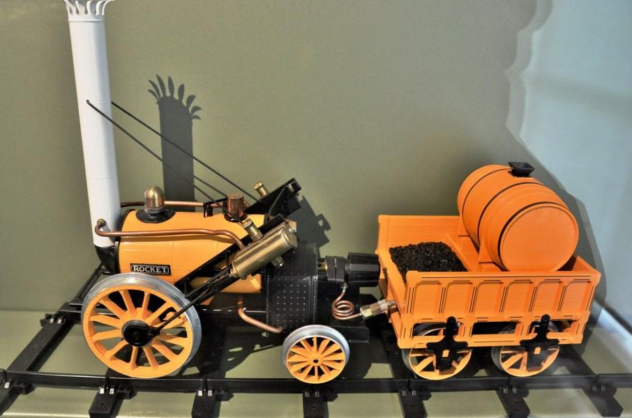 V & A Toy Museum Toy Stevensons Rocket