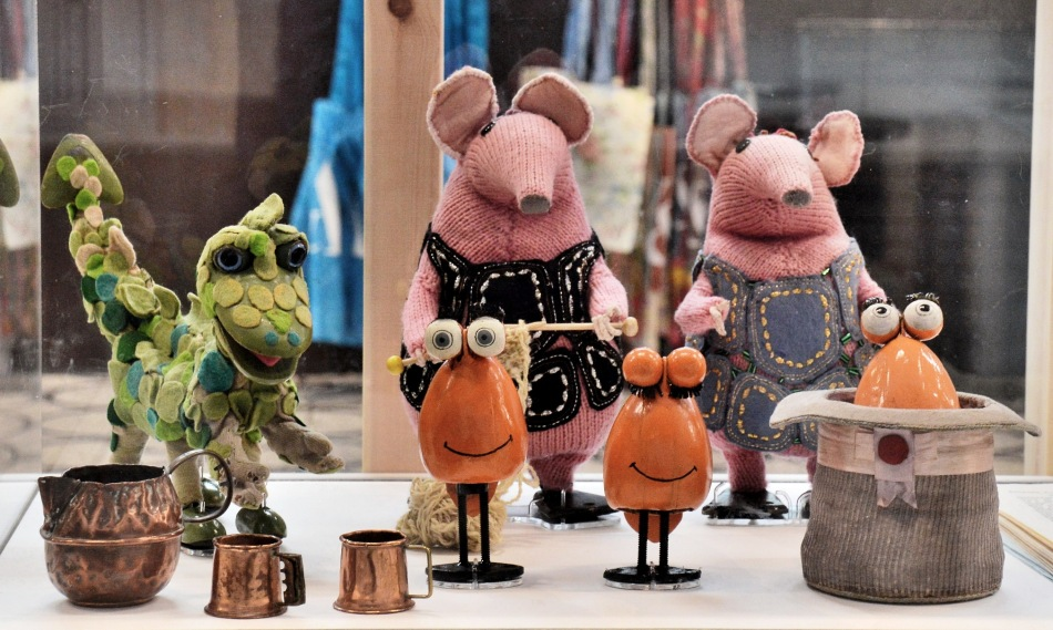 Victoria and Albert Museum of Childhood Clangers and Soup Dragon