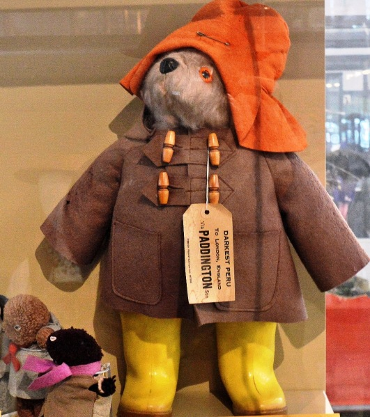 Victoria and Albert Museum of Childhood Paddington Bear