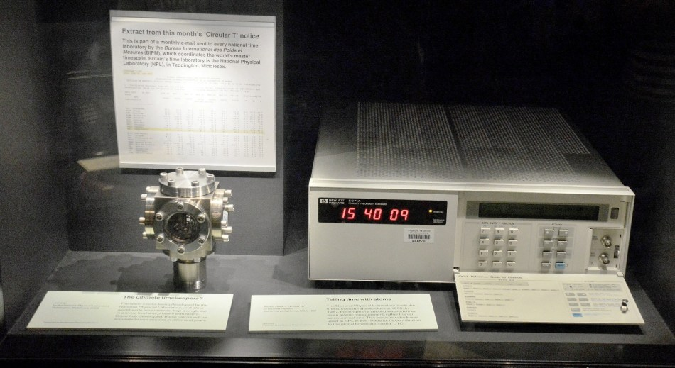Flamsteed House Atomic Clock