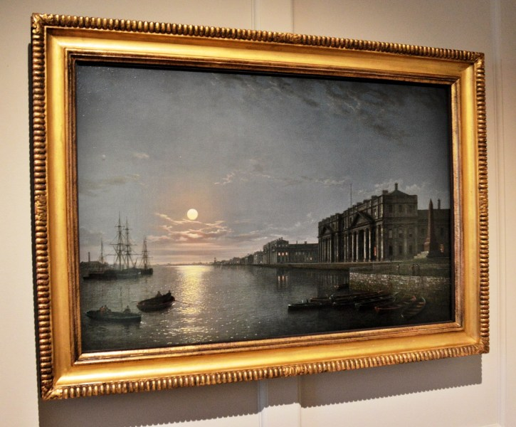 the-thames-and-greenwich-hospital-by-moonlight-by-henry-pether-in-the-queens-house-at-greenwich