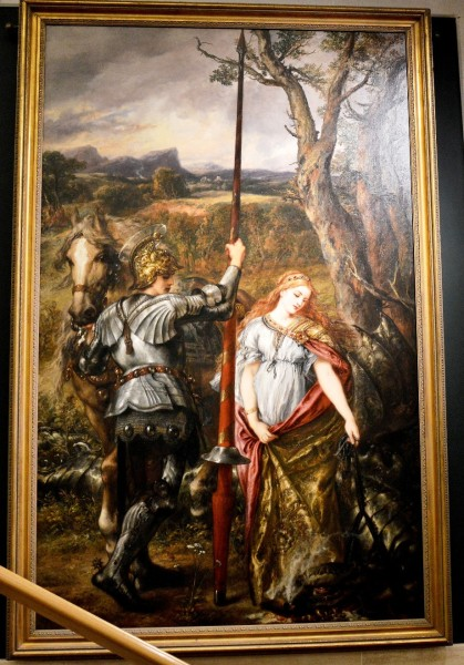 fair-st-george-by-john-gilbert-at-the-guildhall-art-gallery